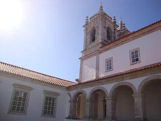 Sitio Nazare beautiful church Bell Tower Photo - Leiria