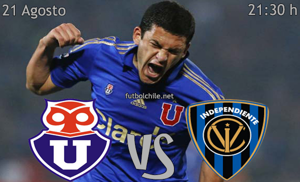 Universidad de Chile vs Independiente Jose Teran - Copa Sudamericana - 21:30 h - 21/08/2013