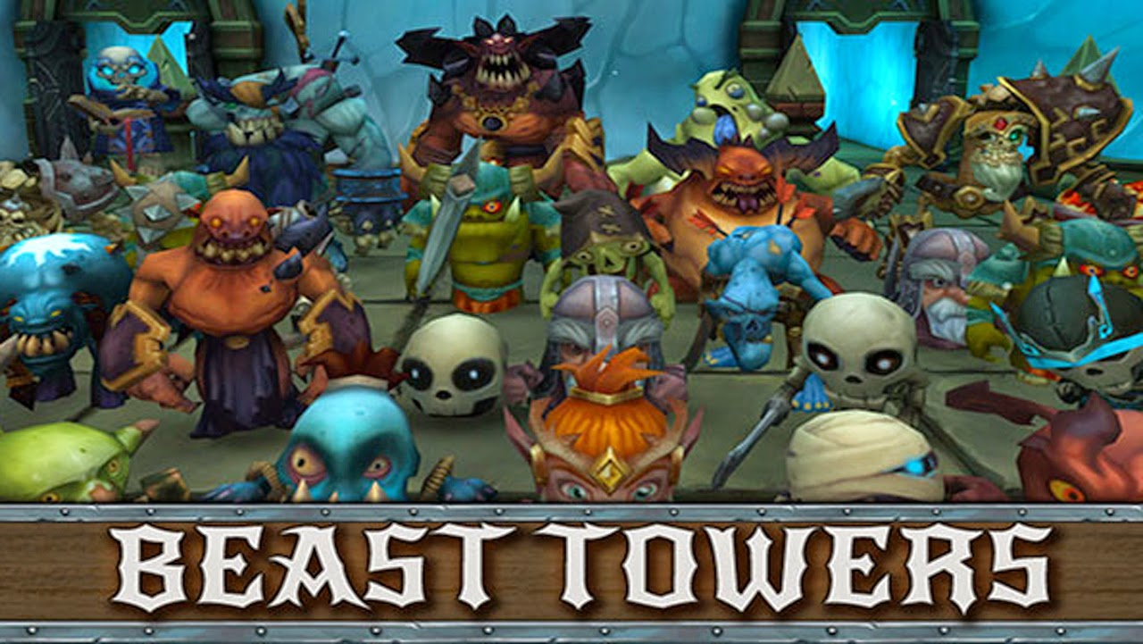Beast Towers Gameplay IOS / Android