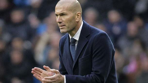Zidane no piensa que la Liga esté perdida todavía