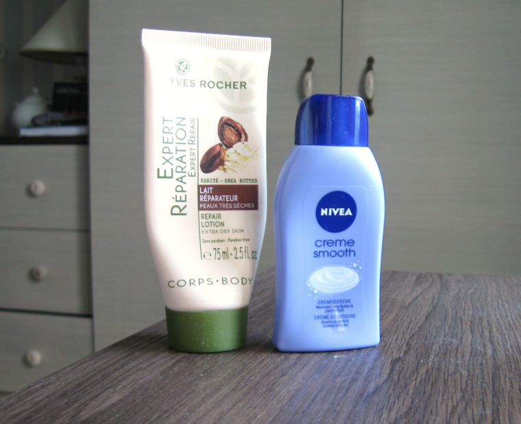 pudrijerica yves rocher nivea creme smooth smece