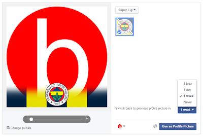 facebook gameface fenerbahçe, facebook profil resmine fenerbahçe logosu ekleme