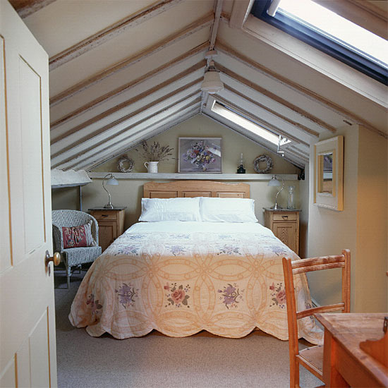 What s up in the attic loft bedrooms frog hill designs for Loft conversion ideas pictures