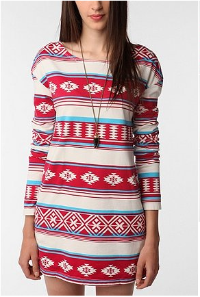 Truly Madly Deeply Navajo Print Tunic