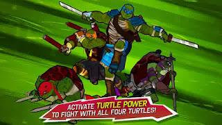 Game TMNT Brothers Unite MOD APK+DATA Terbaru