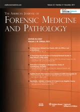 THE AMERICAN JOURNAL OF FORENSIC MEDICINE AND PATHOLOGY