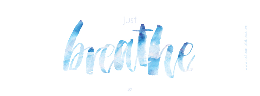 LostBumblebee ©2015 JUST BREATHE | Facebook Cover Image | PERSONAL USE ONLY.