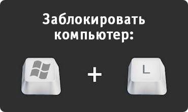 Горячие Клавиши в Windows: Блокировка компьютера