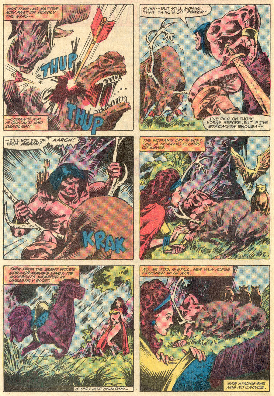 Conan the Barbarian (1970) Issue #135 #147 - English 17