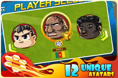 head soccer iphone personaggi