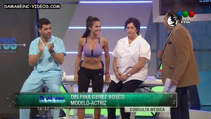 Argentina Model Delfina Gerez Bosco spandex HD video