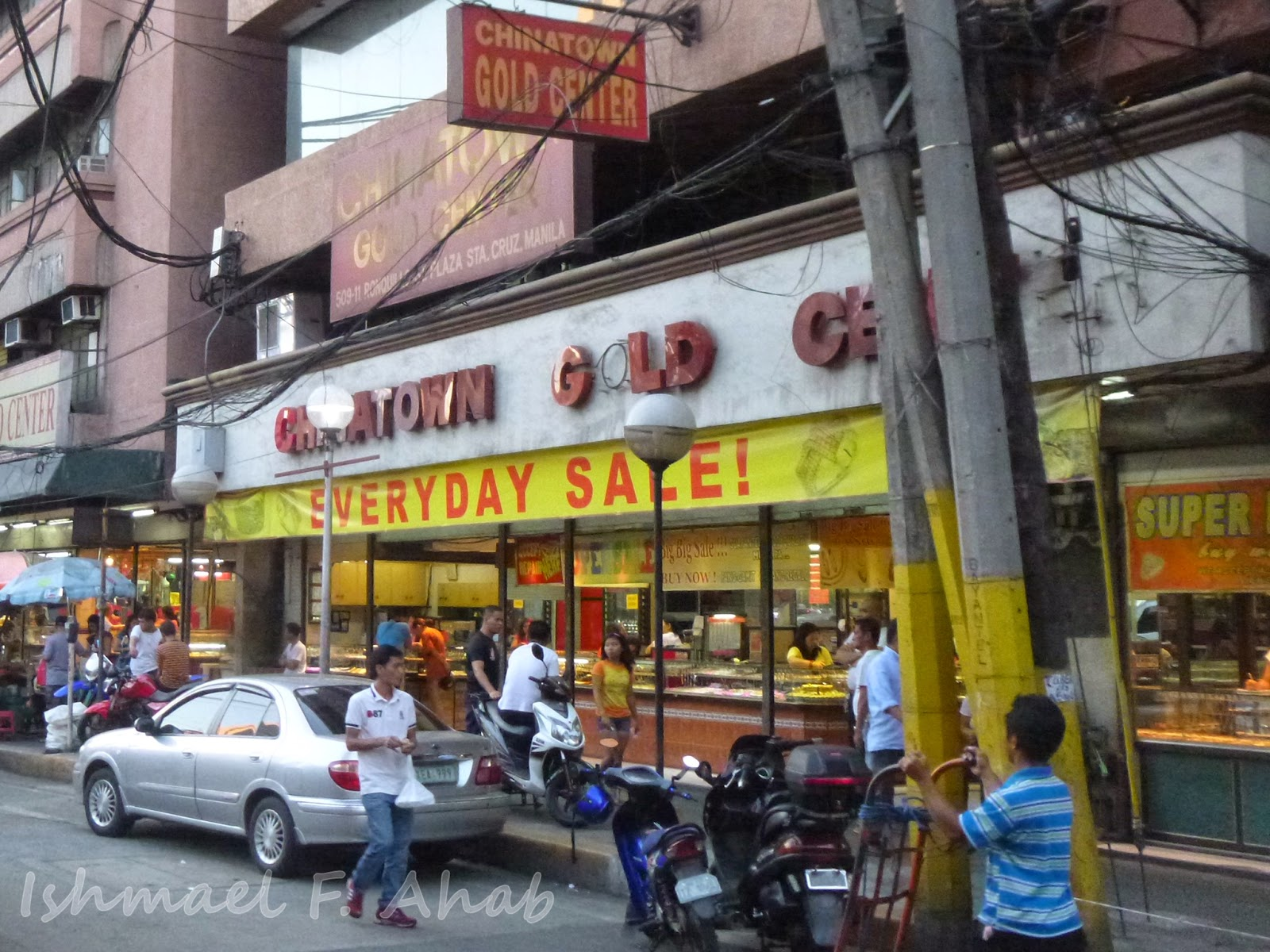 searching for wedding rings and a bad day in binondo