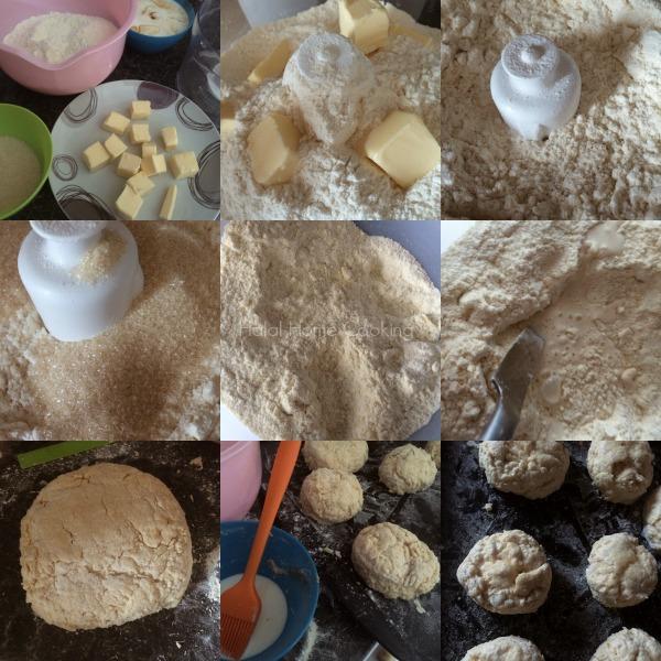 Halal Home Cooking: Buttermilk Vanilla Scones Recipe