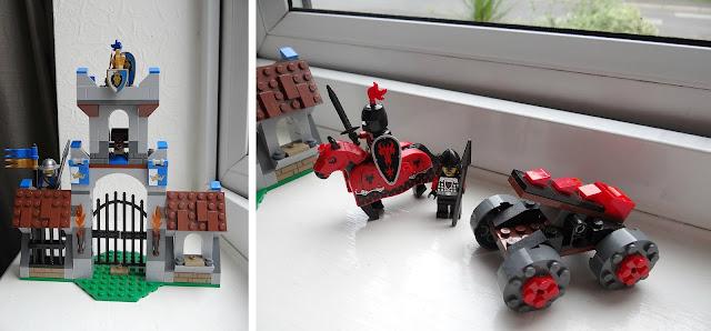 LEGO Castle, Travel to Dragon Mountain, Gatehouse Raid