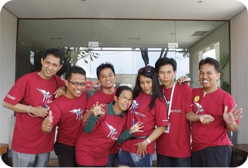 Formasi Lengkap Perwakilan KangGuru Australia di Indonesia