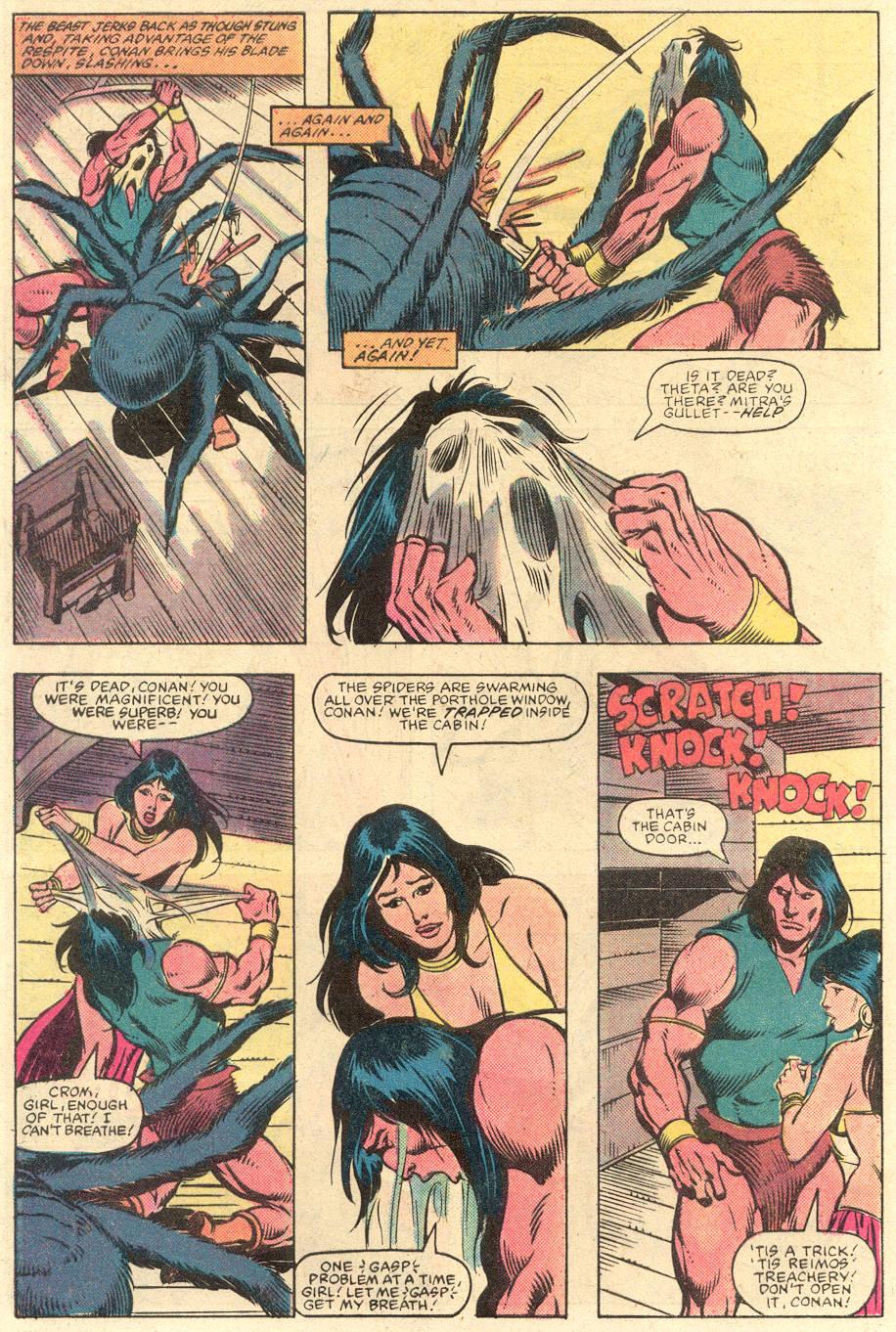 Conan the Barbarian (1970) Issue #141 #153 - English 21