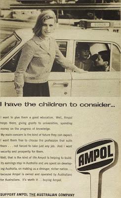 Ampol vintage ad 1967