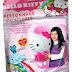LOT Personnage gonflable Hello Kitty