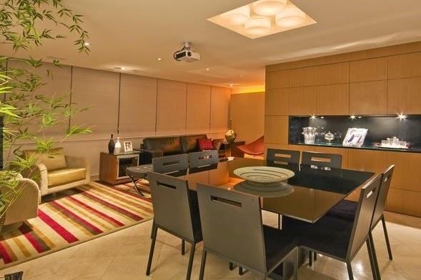 Sala de jantar e estar no mesmo ambiente? ~ Blog JBA Imó -> Decoração De Sala De Jantar E Estar No Mesmo Ambiente