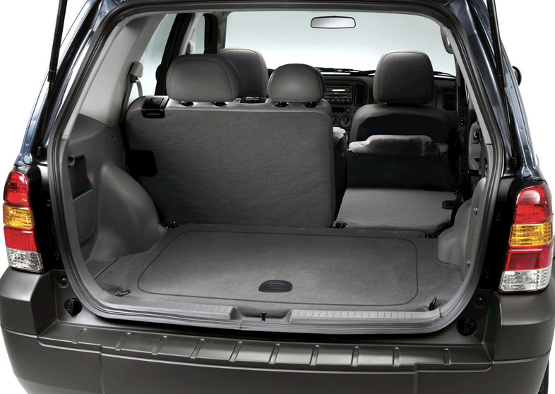 and cargo area the old Escape is on top. Click any image for a