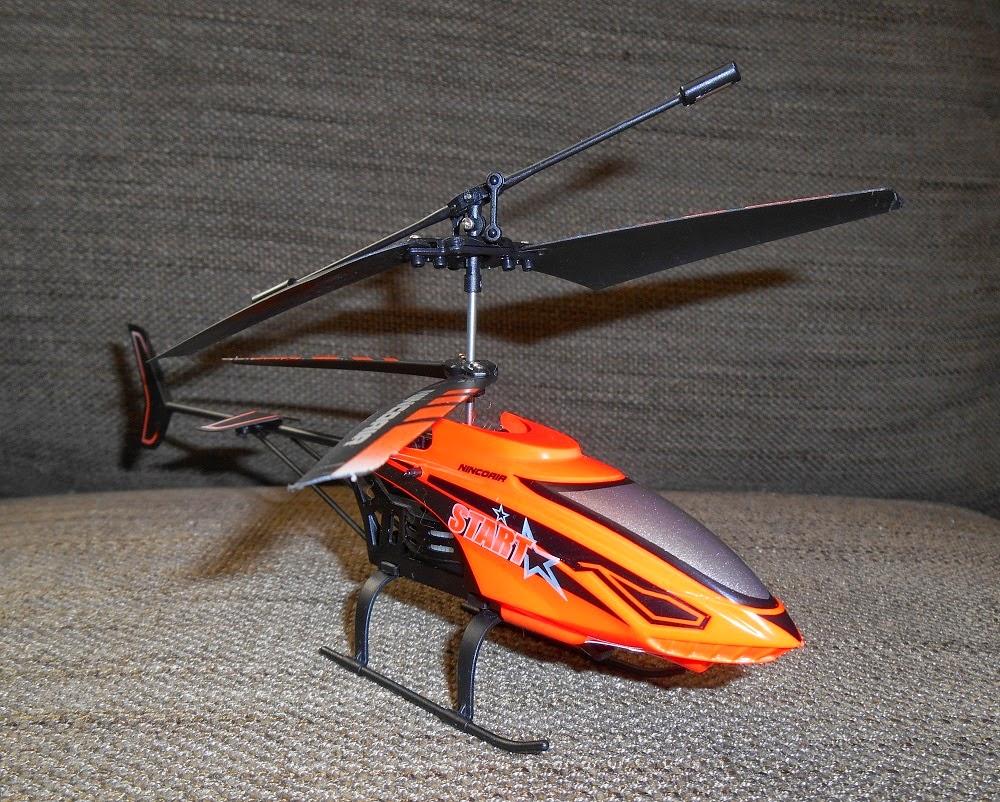 minihelicóptero radio control