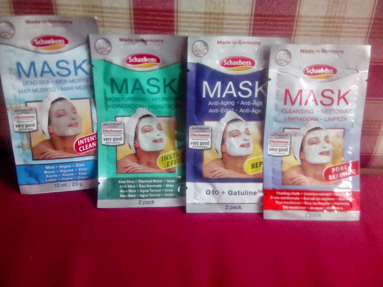 mascarillas faciales schaebens de freefarma