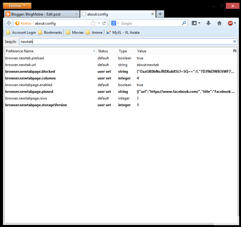 Atur Speed Dial Sebagai Halaman Awal Firefox