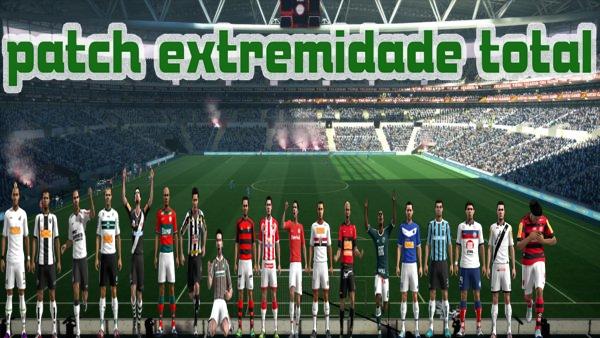 Baixar Patch Extremidade Total, da Liga Brasileira, Campeonato Espanhól, Patch da Inglaterra, Itália e Argentina para PES 2012 para PC Grátis