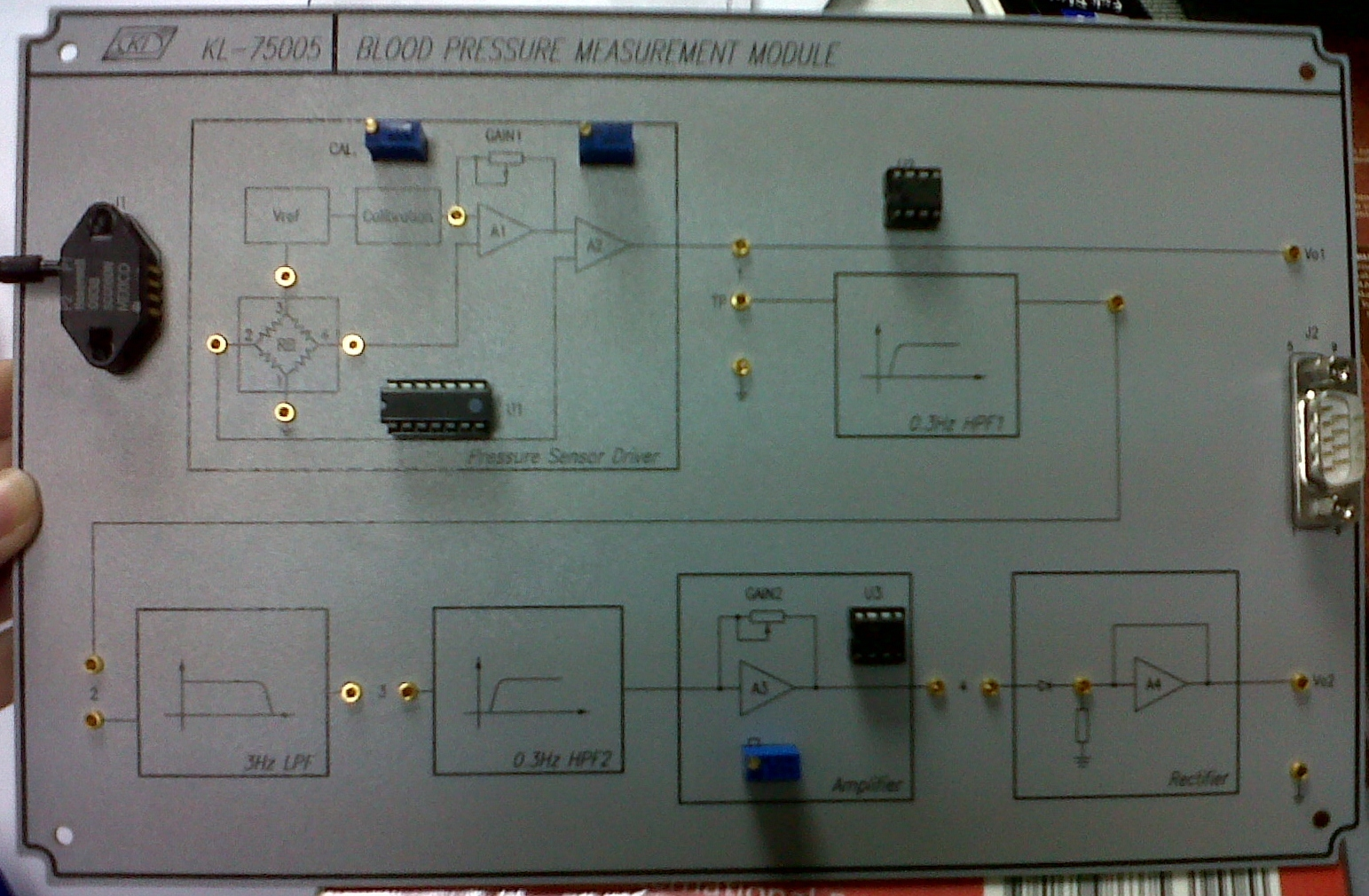 Final Year Project Home Patient Monitor March 2012 Digital Panel Meter Wiring Diagram