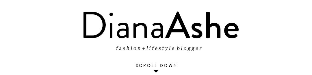 Diana Ashe Blog