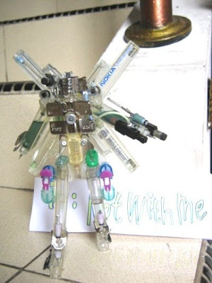 Kreatifitas Unik Robot Transformer Memakai Korek Gas [ www.BlogApaAja.com ]