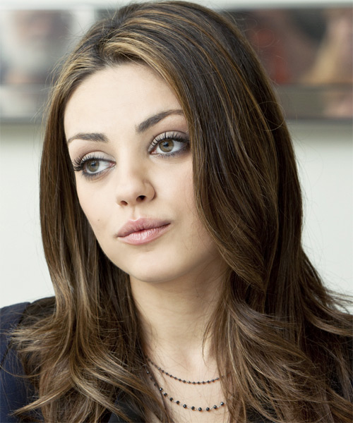 Funny Picture Clip Star Mila Kunis Oscars Hairstyles