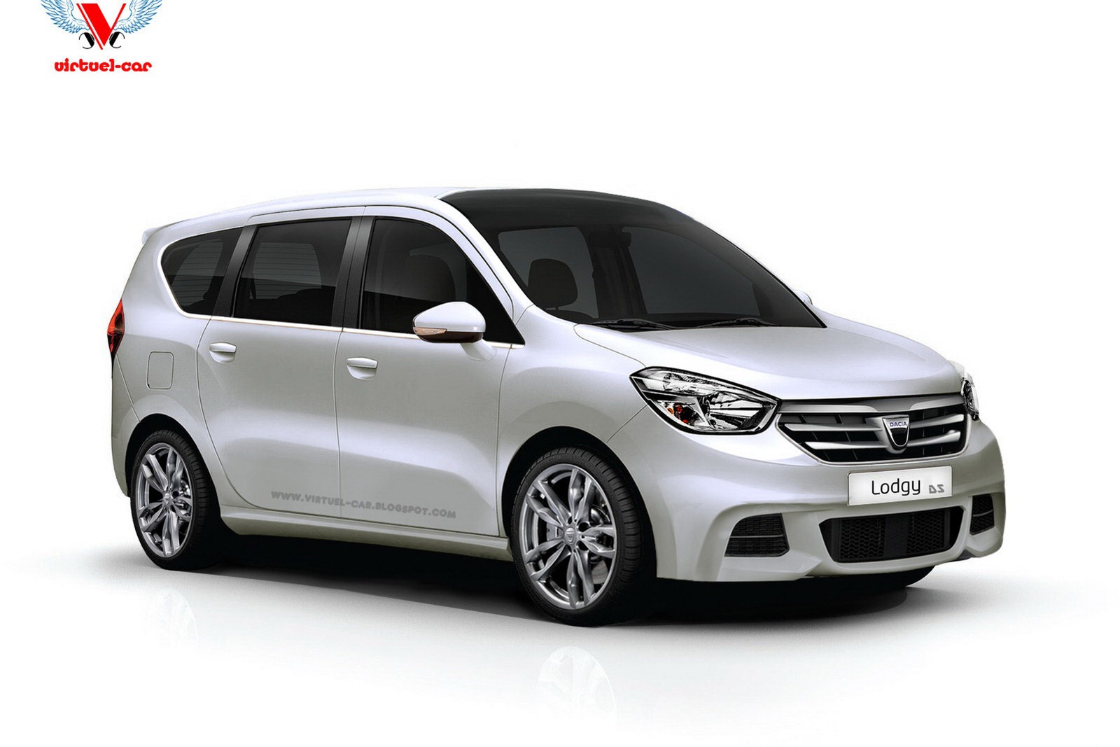 dacia lodgy monospace concurent renault scenic minivan. Black Bedroom Furniture Sets. Home Design Ideas