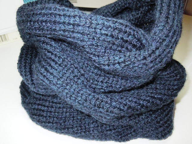 From the Back Yard: The Burberry Inspired Cowl