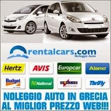 Noleggio auto nelle isole greche