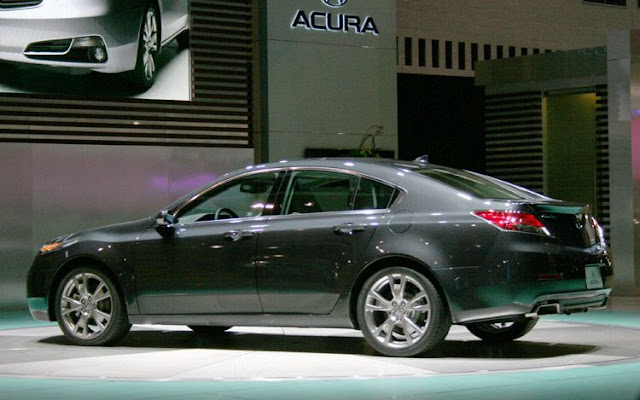 2012 Acura Tl Right Side
