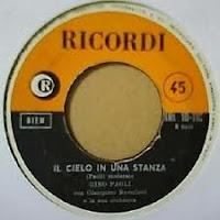 Learn italian with music il cielo in una stanza by gino for Il cielo in una stanza autore