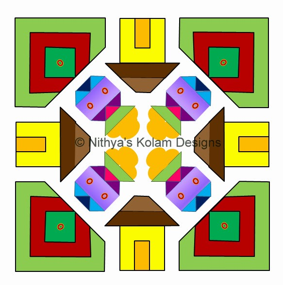 Pongal Paanai and house Kolam