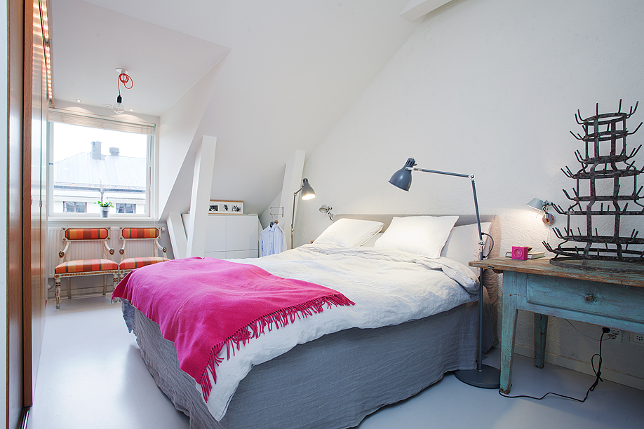 ideas for bedrooms pink and gray mod