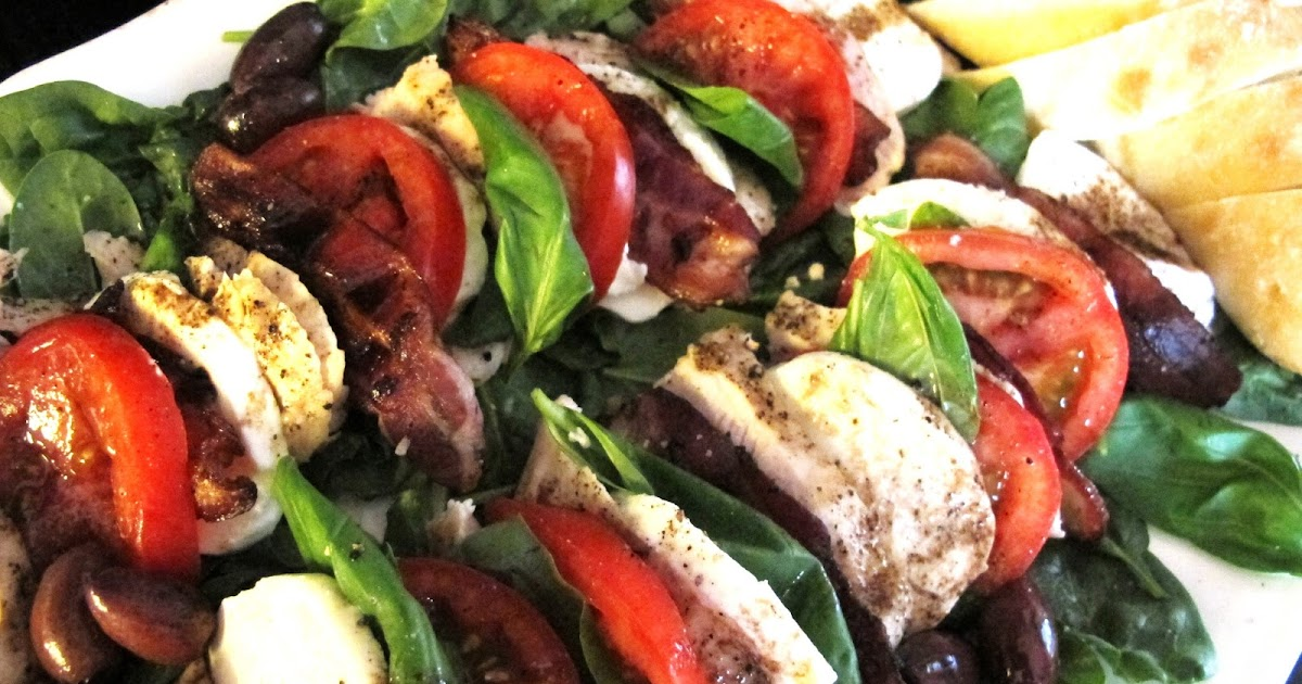 More Time At The Table Blt Caprese With Chicken Or She Returns From The Cruise And Finds She