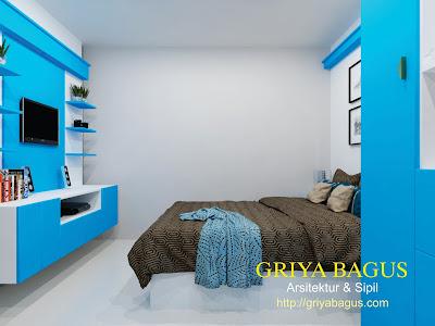 Interior Kamar Tidur Anak Lantai  2 Perumahan CitraGrand Mutiara view 1