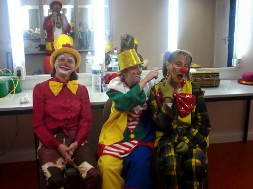 Les clowns en joie !