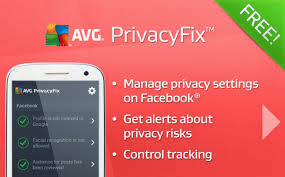 AVG PrivacyFix Facebook