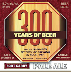 Fort Garry Brewing Label   300 Years of Beer