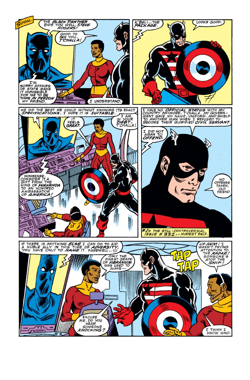 Captain America (1968) Issue #342 #272 - English 7