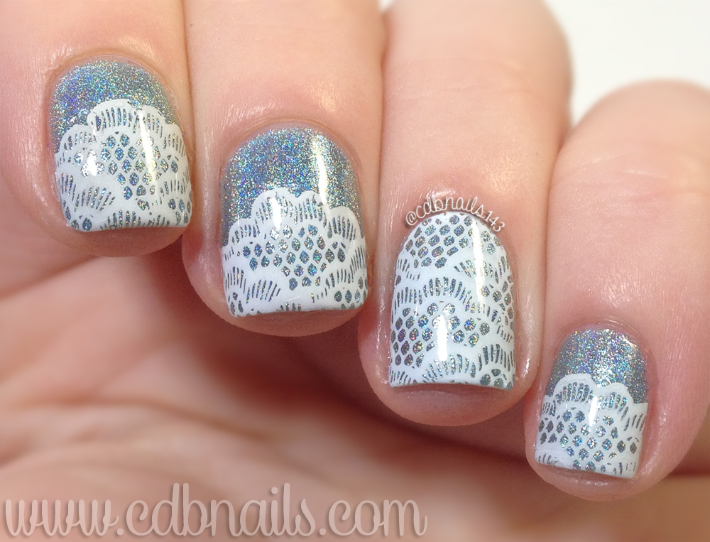 cdbnails: 40 Great Nail Art Ideas   HeHe Plate Review