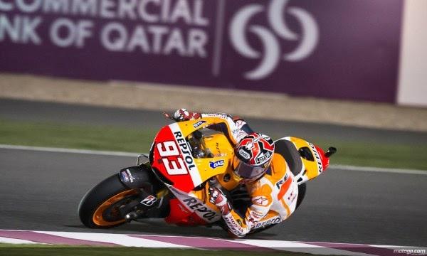 MotoGP : Hasil kualifikasi Losail Qatar . . . Marquez start di posisi pertama !