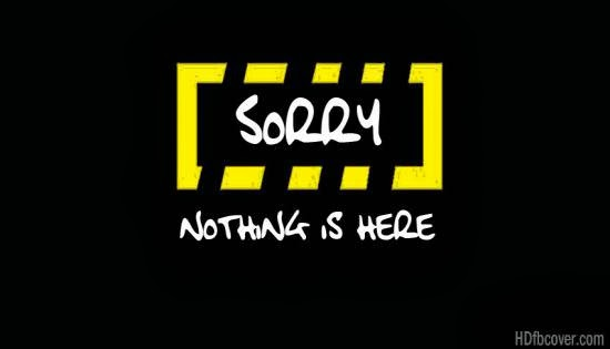 Nothing is here