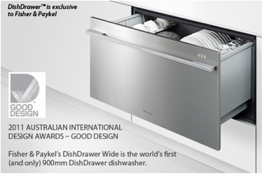 dishwasher integrated fisher paykel dishdrawer drawer the block kim matt hidden wide