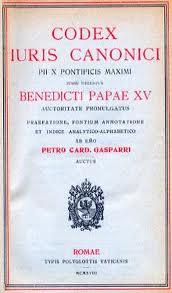 Código de Direito Canônico 1917